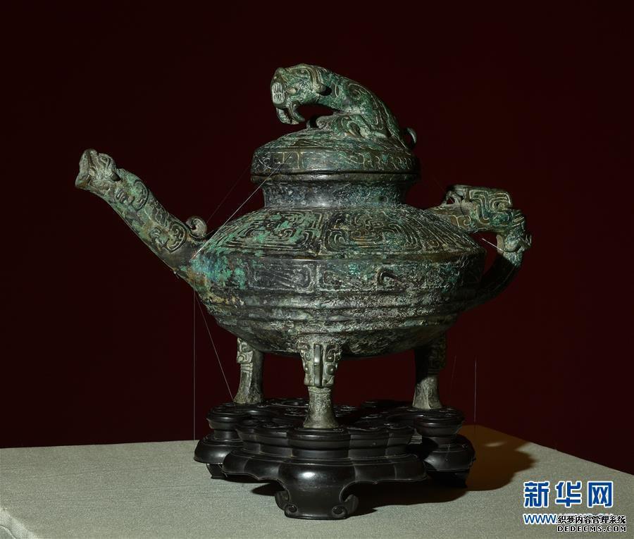 """(文化)(4)流失海外文物青铜""""虎�v""""重回祖国"""