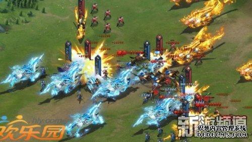 全新战场 欢乐园《三国群英传一统天下》让战斗更爽快