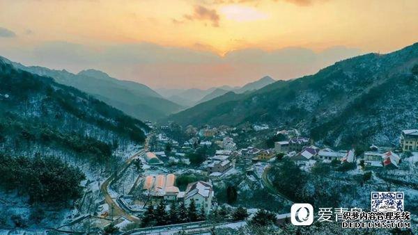 【微视】你见过雪后的崂山?美如《魔戒》里的中土世界